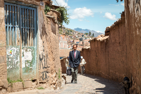 Cusco Businessman-Peru, '15